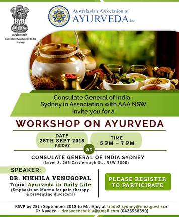 Workshop on Ayurveda