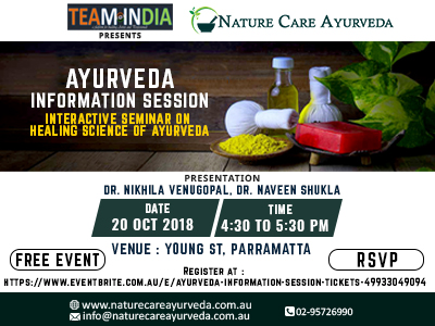Ayurveda Information Session